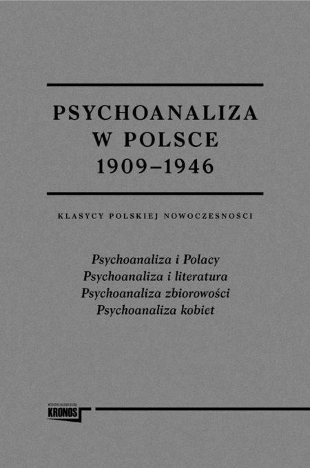 Psychoanaliza w Polsce 1909–1946