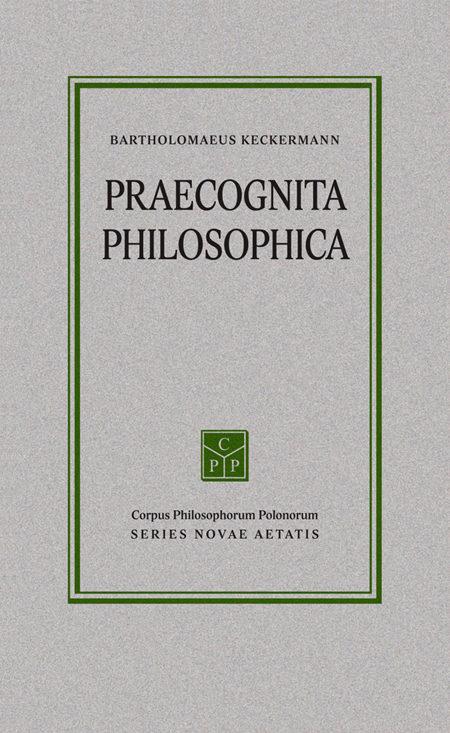 Praecognita philosophica