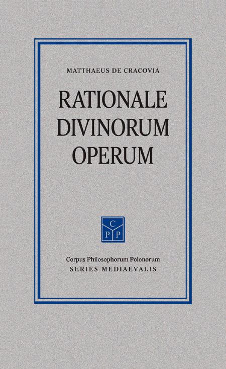 Rationale divinorum operum