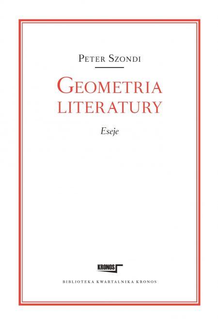Geometria literatury. Eseje